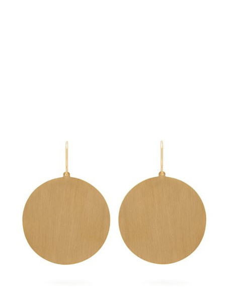 Irene Neuwirth - Circle 18kt Gold Earrings - Womens - Gold