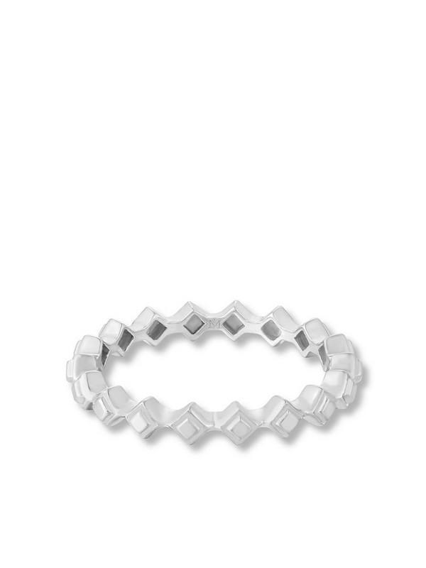 Annoushka 18kt white gold Stepping Stone ring