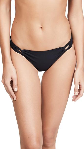 Sara Cristina Narcissus Bikini Bottoms in black