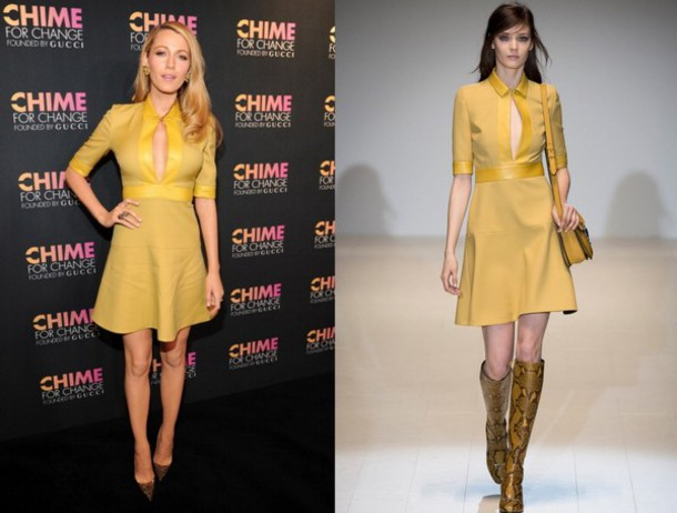 dress chime for change blake lively