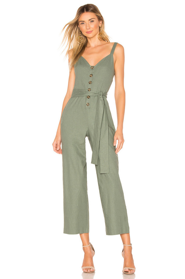 Privacy Please Rosemary Jumpsuit