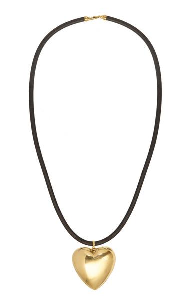 Lauren Rubinski 14K Yellow Gold Heart Necklace