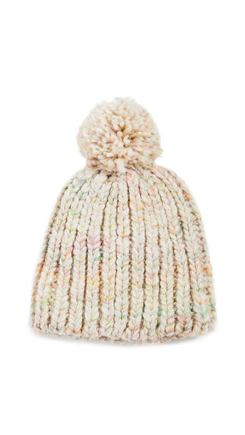 Madewell Chunky Colorblock Beanie in multi