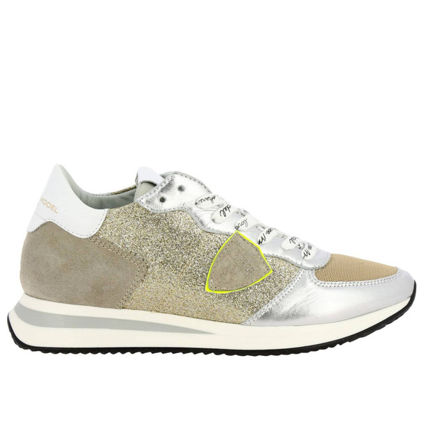Philippe Model Sneakers Shoes Women Philippe Model in gold