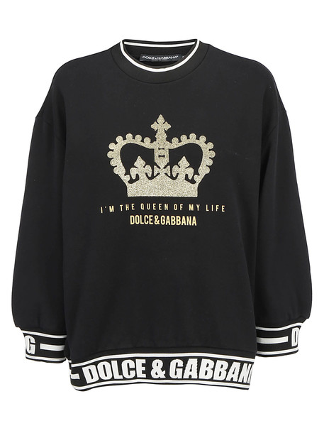 Dolce & Gabbana Sweatshirt in nero