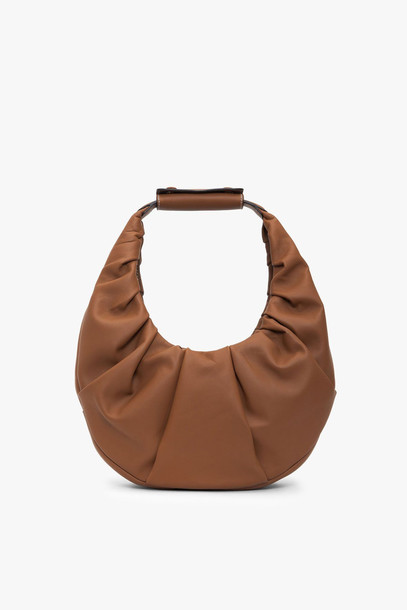 Staud SOFT MOON BAG | TAN