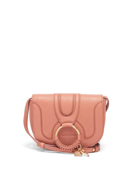 See By Chloé See By Chloé - Hana Mini Grained-leather Cross-body Bag - Womens - Pink