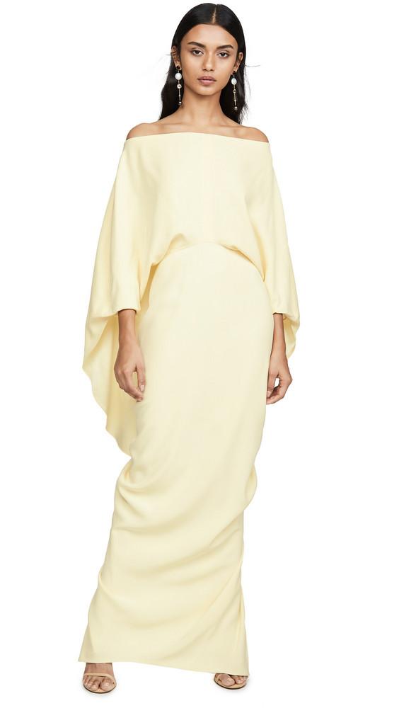 Hellessy Berenice Dress in yellow
