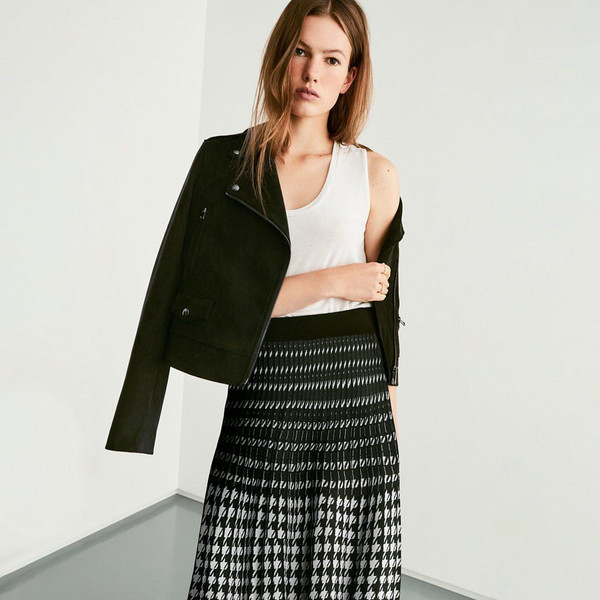 skirt top jacket