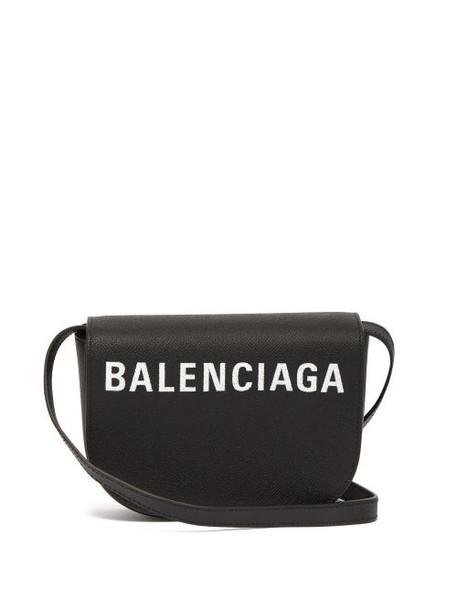 Balenciaga - Ville Xs Leather Bag - Womens - Black