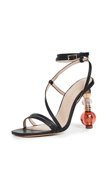 Jacquemus Les Sandales Bordighera Sandals in black