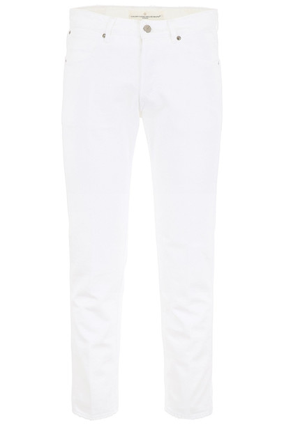 Golden Goose Free Jeans With Five Pockets in white