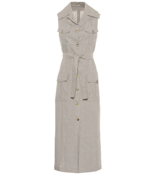 Giuliva Heritage Collection The Mary Angel linen dress in beige