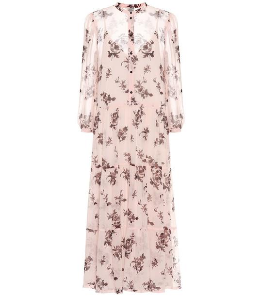 Baum und Pferdgarten Aia floral midi dress in pink
