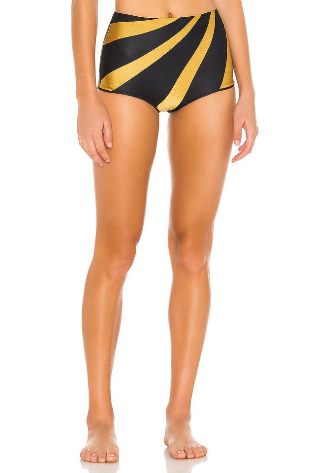 TM Rio de Janeiro Milagres Bikini Bottom in black