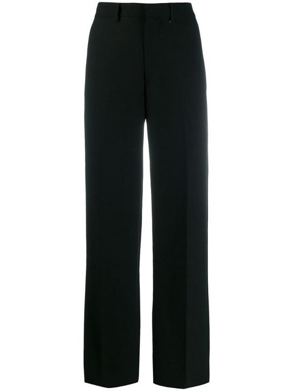 AMI Paris Wide Fit Trousers in black