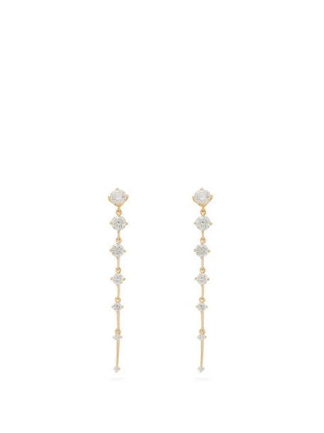 Fernando Jorge - Sequence Diamond & 18kt Yellow Gold Earrings - Womens - Gold