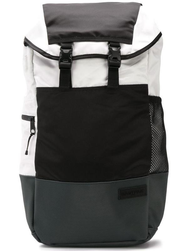 Eastpak colour block backpack in black