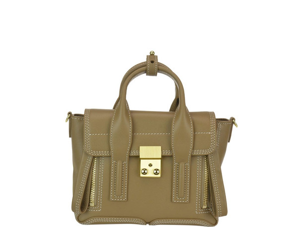 3.1 Phillip Lim Pashli Mini Satchel Bag in mushroom
