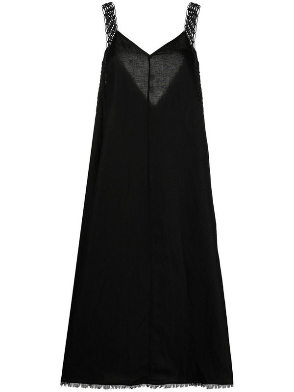 Solid & Striped Decelia beach dress in black