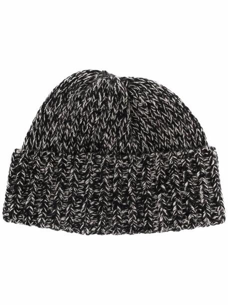 Saint Laurent knitted cashmere beanie - Black