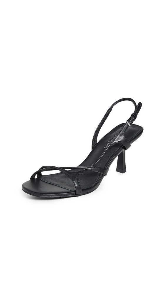 Jeffrey Campbell Parasite Sandals in black