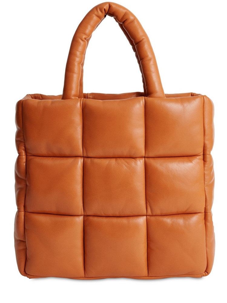 STAND STUDIO Assante Quilted Leather Tote Bag