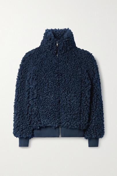 APIECE APART - Sienta Faux Shearling Jacket - Blue
