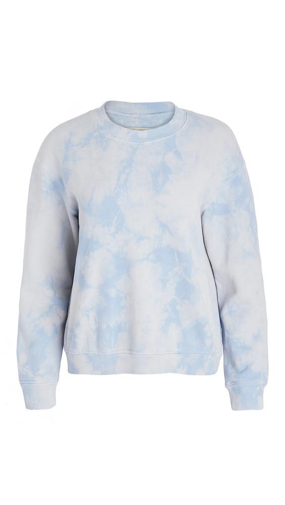 Raquel Allegra Classic Sweatshirt in blue