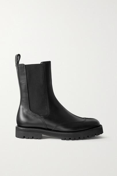 Dries Van Noten - Leather Chelsea Boots - Black