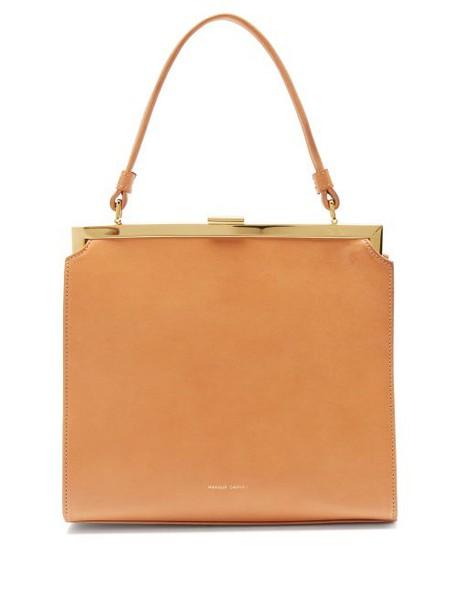Mansur Gavriel - Elegant Leather Handbag - Womens - Tan