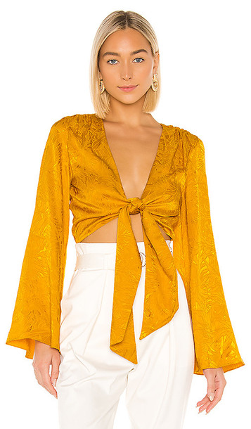 House of Harlow 1960 x REVOLVE Selena Top in Yellow