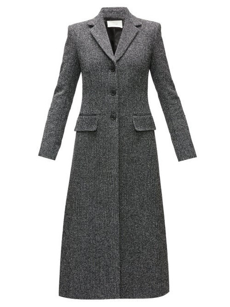 The Row - Sua Single-breasted Tweed Coat - Womens - Black Multi