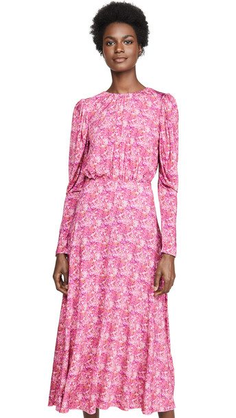 ROTATE Number 57 Rerunner Dress in pink