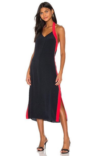 Rag & Bone Scarlet Halter Dress in Navy