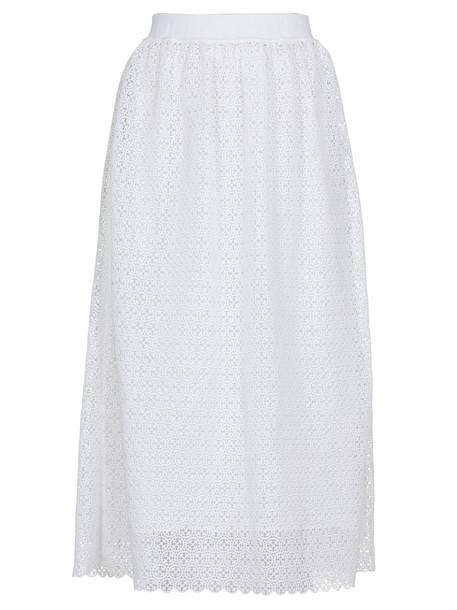 Off-White Macrame Skirt