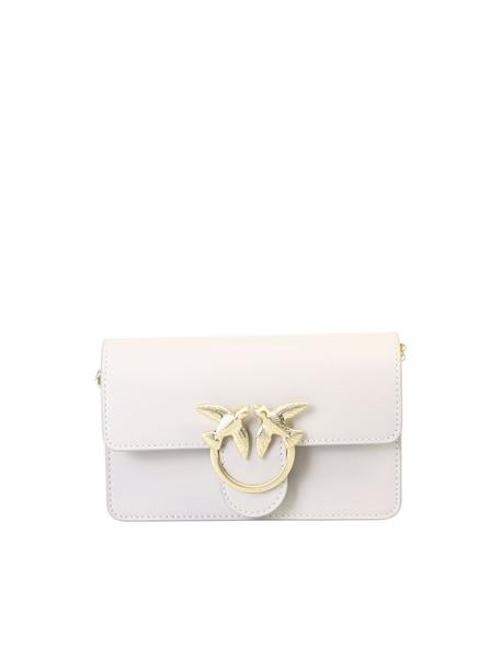 Pinko Baby Love Bag in beige