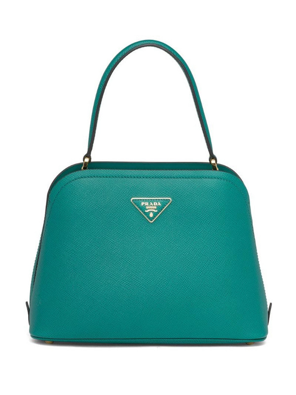 Prada mini Matinée tote bag in green