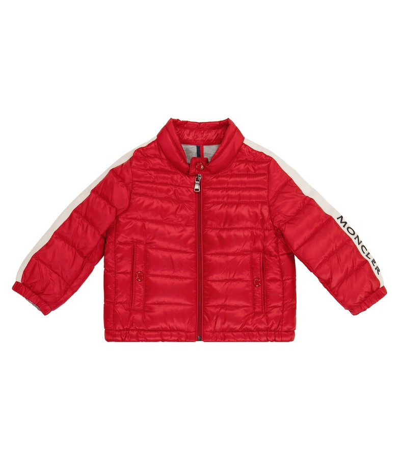 Moncler Enfant Baby Alber down jacket in red
