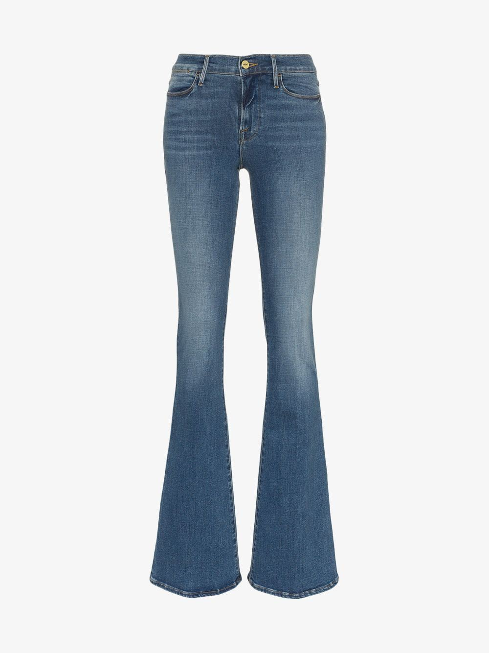 Frame Denim FRAME Le High Flare Jeans in blue