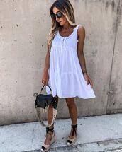 shoes,platform shoes,dior bag,mini dress,white dress
