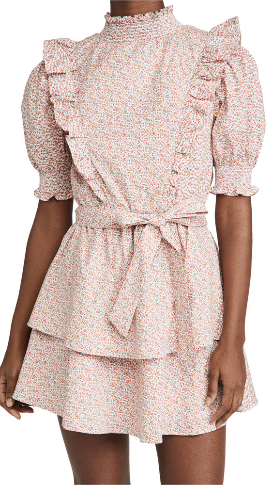 ENGLISH FACTORY Floral Dress in pink / multi