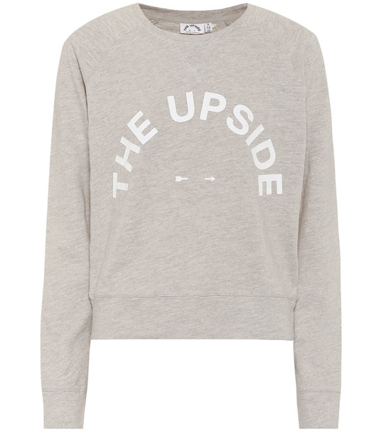 The Upside Bronte cotton sweatshirt in beige