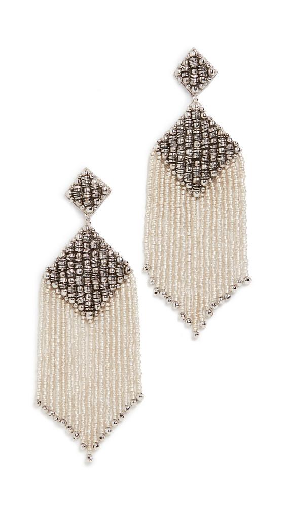 Deepa Gurnani Deepa by Deepa Gurnani Jenya Earrings in silver