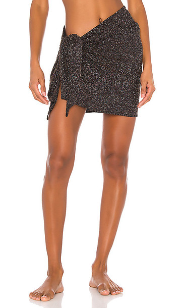 Normaillot Charisma Short Wrap in Black