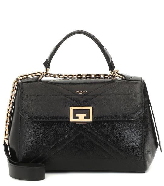 Givenchy ID Medium leather shoulder bag in black