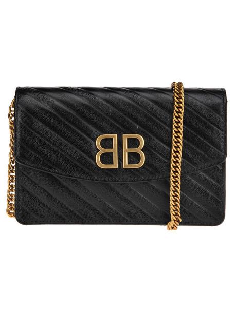 Balenciaga Balenciaga Bb Chain Quilted Bag in black