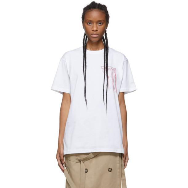 Rokh White Logo T-Shirt