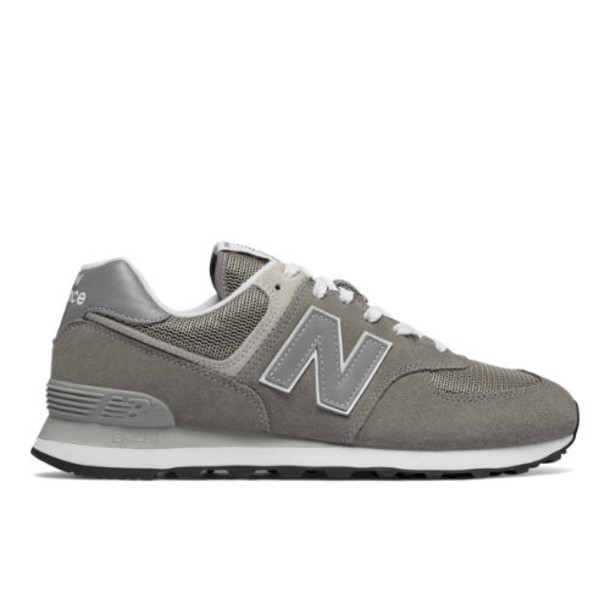New Balance 574 Core Men's 574 Shoes - Grey (ML574EGG)