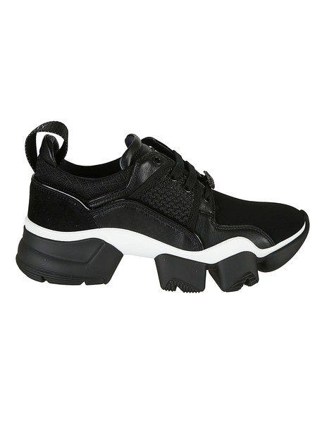 Givenchy Low Jaw Sneakers in black / white